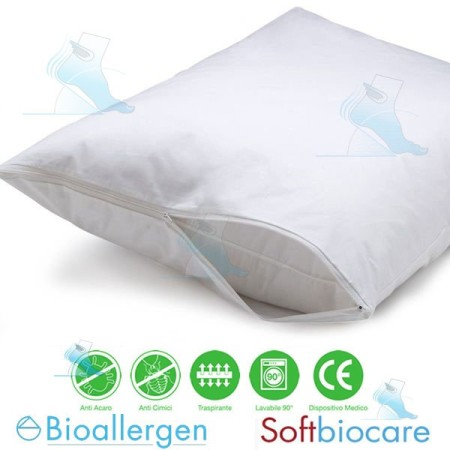 Federa Copricuscino Antiacaro Bioallergen SoftBiocare