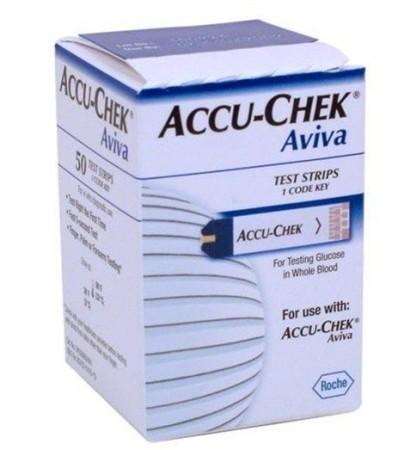 ACCU-CHEK AVIVA STRISCE REATTIVE 50