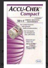 ACCU-CHEK COMPACT STRISCE REATTIVE 50+1
