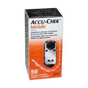ACCU-CHECK MOBILE 50 STRISCE TEST