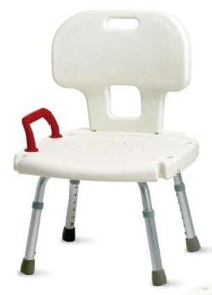 Sedia da doccia con schienale ortopedia malpighi - Sedia da bagno per disabili ...