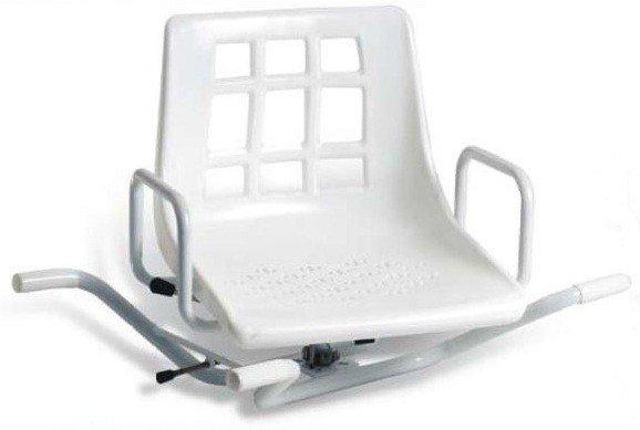 Sedia girevole da vasca ortopedia malpighi - Sedia girevole per vasca da bagno ...
