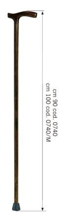 BASTONE DA UOMO IN LEGNO MAGGIORATO LUNGHEZZA 1 MT ART. 740/M