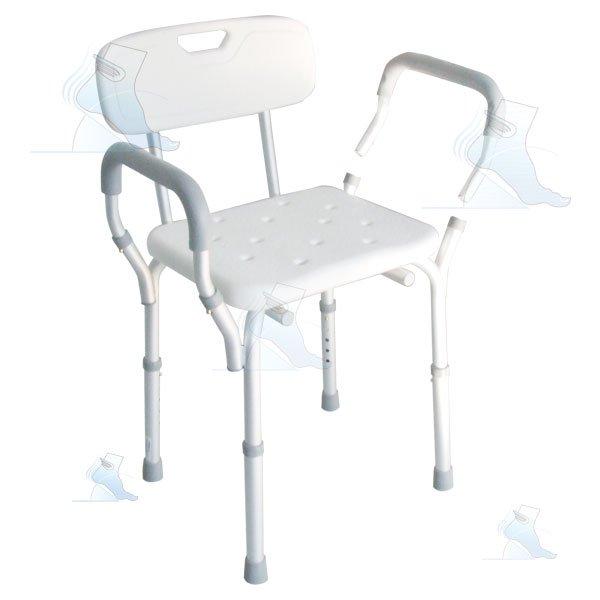Sedia da doccia intermed ab 21 ortopedia malpighi - Sedia da bagno ...