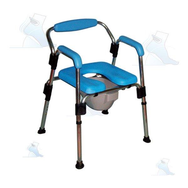 Sedia pieghevole da doccia e da comodo ab 94 intermed ortopedia malpighi - Sedia da bagno per disabili ...