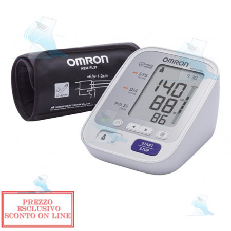 misuratore-di-pressione-da-braccio-omron-m3-comfort
