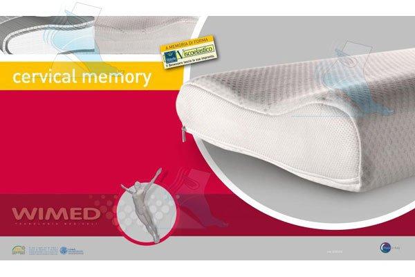 Guanciale Anatomico Fabe Prezzo.Cuscino Ortopedico Cervical Memory Wimed
