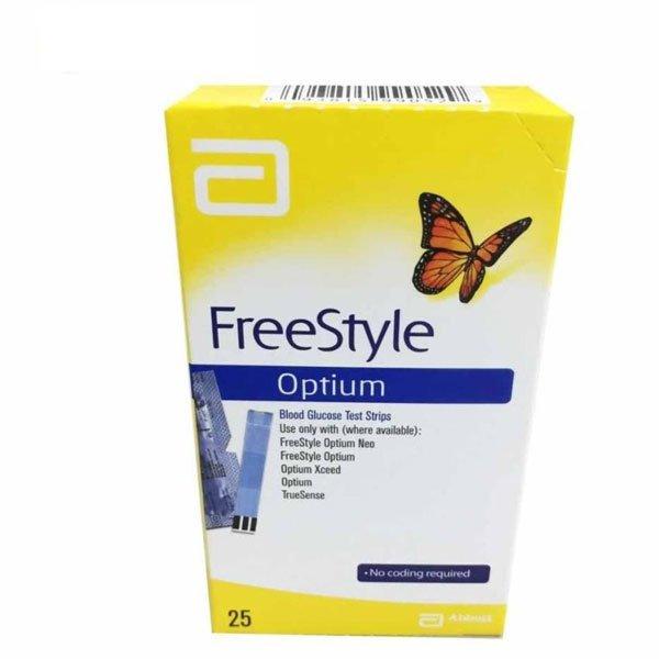 Optium Freestyle strisce reattive per test confezione da 50